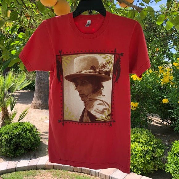 bob Dylan Other - Bob Dylan concert tee XS